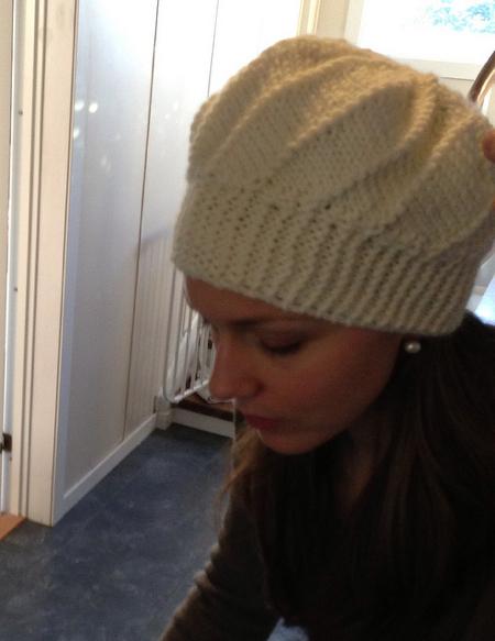 Strikket Cool Wool lue voksen